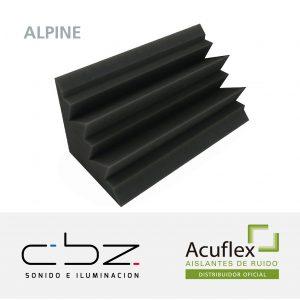 Trampa Alpine Basic Gris Topo 20cm Espesor