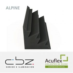 Trampa Alpine Pro Gris Topo 20cm Espesor Retardante Llama
