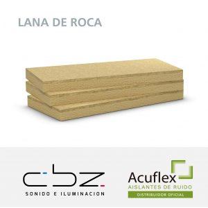 Lana de Roca Mineral 100Kg/M3 25mm