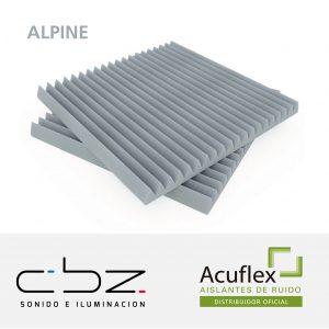 Alpine Premium Gris Perla 20mm Ignífugo 61x61cm