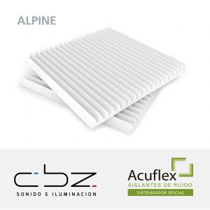 Alpine Premium Blanco 20mm Ignífugo 61x61cm