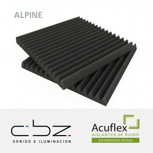 Alpine Basic Gris Topo 30mm 49x49cm