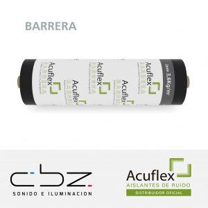 Barrera 3,6Kg Rollo 5M2
