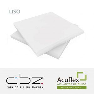 Liso Premium Blanco 20mm Ignífugo 61x61cm