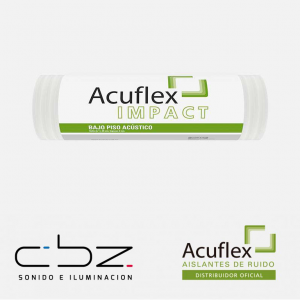 Acuflex Impact – Bajo Piso Acústico